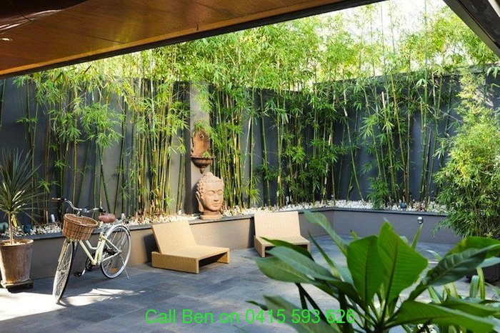 Eltham gardening service 3095 free quote call ben 0415 for Courtyard garden designs australia