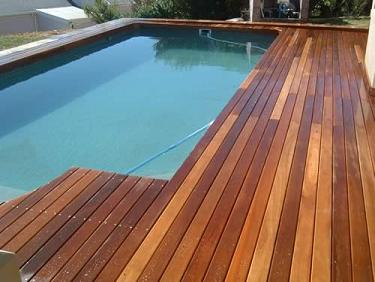oiled deck finished